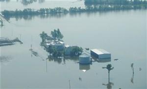 Flood - Aerial View